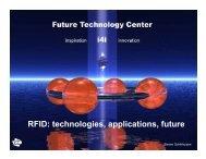 FTC - Presentation on RFID - Future Technology Center