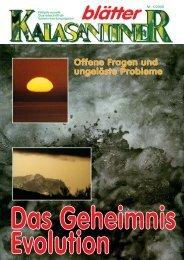 Offene Fragen und ungelöste Probleme