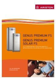 Ariston Genus Premium FS, Ariston Genus Premium Solar FS Álló ...