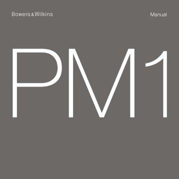 Manual - Bowers & Wilkins