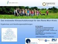 Präsentationsfolien - Landratsamt Rems-Murr-Kreis