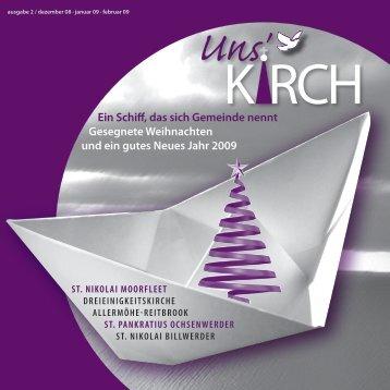 Uns Kirch - St. Nikolai zu Hamburg-Billwerder