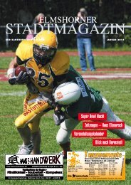 Elmshorner Stadtmagazin KW01 (31.12.2013) - Holsteiner Allgemeine