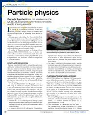 Particle physics: MOLECULES project