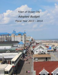 FY14 Adopted Budget Book - Town of Ocean City