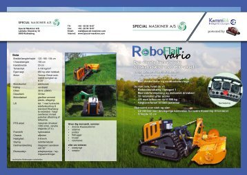 Roboflail vario - Special Maskiner A/S