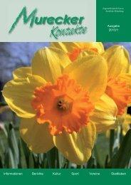 Ausgabe 2013/1 Informationen Berichte Kultur Sport ... - Mureck