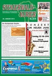 Ausgabe 1078 - Steigerwald-Kurier