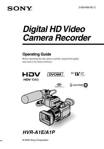 Digital HD Video Camera Recorder - Booking at Valand