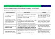Perceptions and Scientific Experiences related to Deforestation ... - Gtz