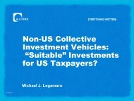 """Non-US Collective Investment Vehicles: """"Suitable"""" Investments for ..."""
