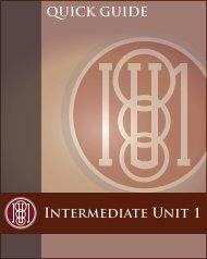 New COS 8-30-12 - Intermediate Unit 1