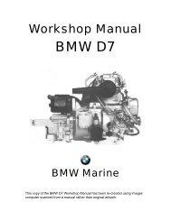 BMW D7 Workshop Manual