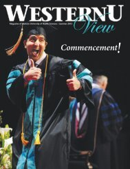 Commencement! - Western University of Health Sciences