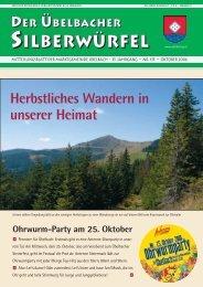 silberw-Okt 2006- - Marktgemeinde Übelbach