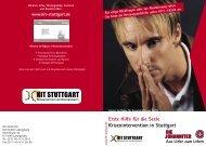Erste Hilfe für die Seele Krisenintervention in Stuttgart - (KIT) Stuttgart