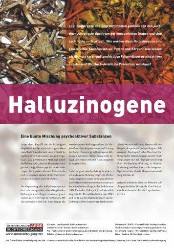 Halluzinogene - Institut Suchtprävention
