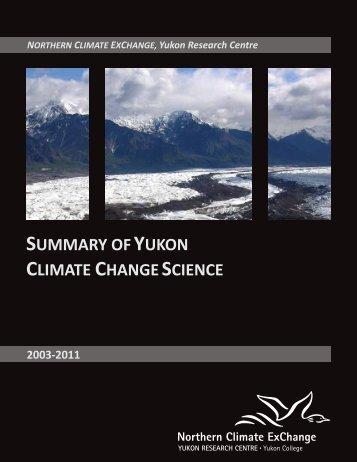 Summary of - Yukon College