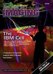 Advanced Imaging Magazine, April 2006 - Sensors Unlimited