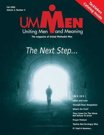 Fall 2000, No. 4 - United Methodist Men
