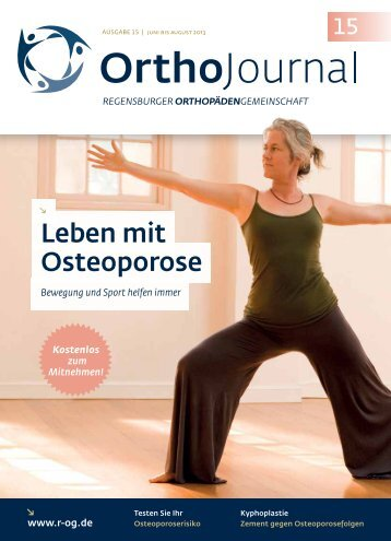 Ausgabe 15 - Krankenhaus Barmherzige Brüder Regensburg