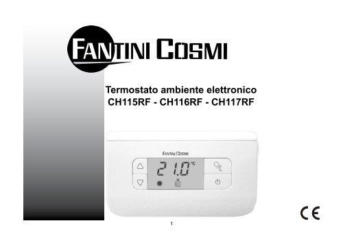 Istruzioni ch115 rf fantini cosmi for Fantini cosmi ch115