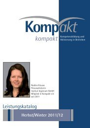 Kompakt - Broschüre - NEU.indd - Kompakt e.V.