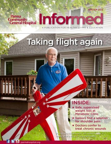 Taking flight again - Parma Community General Hospital