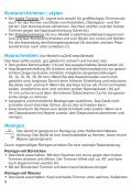 cruZer - Braun Consumer Service spare parts use instructions ... - Page 7