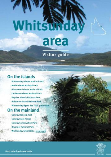 Whitsunday area visitor guide - Department of National Parks ...