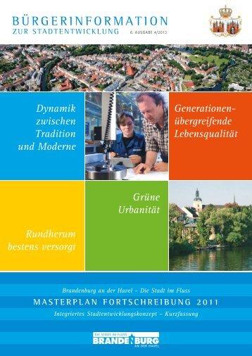 Masterplan Fortschreibung 2011 / Integriertes ...