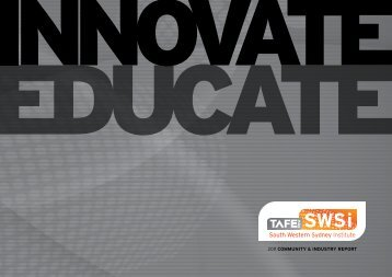 Community & Industry Report 2011 - South Western Sydney Institute ...