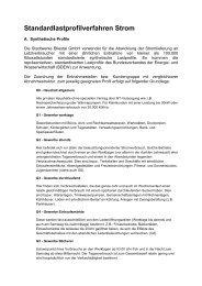 Lastprofile Strom - Stadtwerke Bliestal