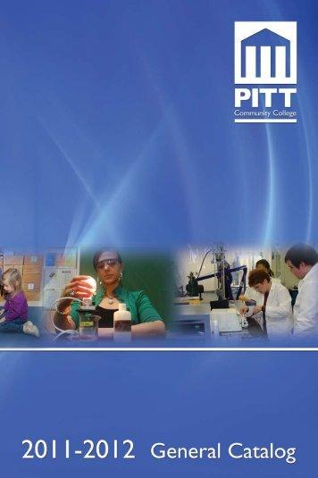 2011 PCC General Catalog - Pitt Community College