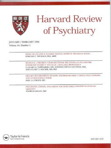original report - Harvard Medical School - Harvard University