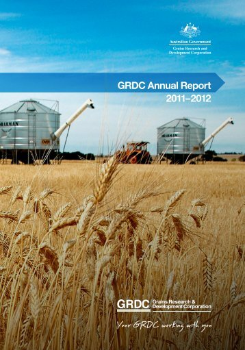 GRDC Annual Report 2011-12 - Grains Research & Development ...