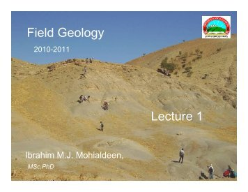 FG lecture 1.pdf - University of Sulaimani