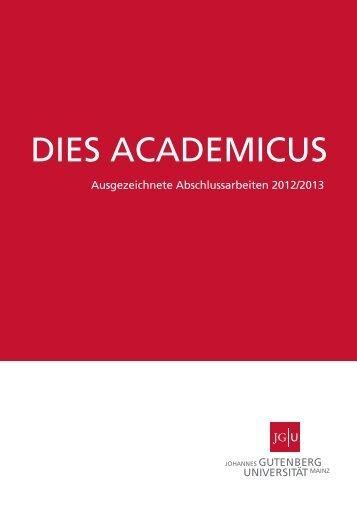 Ausgezeichnete Abschlussarbeiten 2012/2013 - Johannes ...
