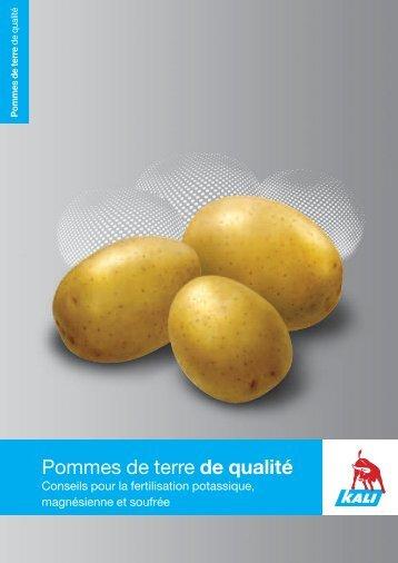 Fertilisation des pommes de terre - K+S KALI GmbH