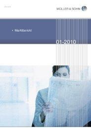 Marktbericht Januar 2010
