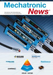 Mechatronik-News-Ausgabe-8-Juni-2009 - Köhler + Partner