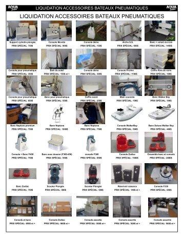 pamplait accessoire zodiac magasin liquidation - aqua services