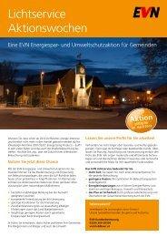Lichtservice Aktionswochen - Kommunalnet