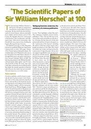 'The Scientific Papers of Sir William Herschel' at 100