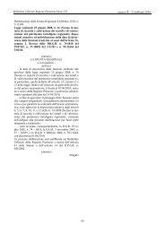 Deliberazione della Giunta Regionale 8 febbraio 2010, n. 5-13189 ...