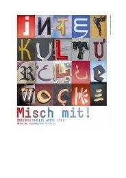 Interkulturelle Woche 2009 - Potsdam bekennt Farbe