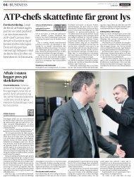 ATP-chefs skattefinte får grønt lys af politikere - Kraka