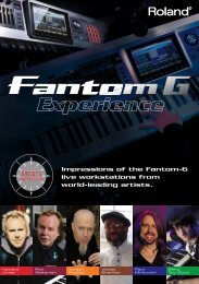 Experience - Roland