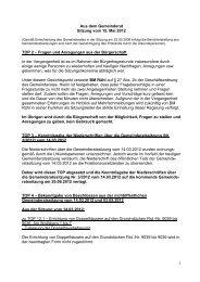 Protokoll vom 15.Mai 2012 - Nußloch