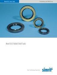 Metal O.D. Radial Shaft Seals - Simrit